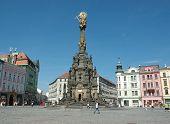 Holy Trinity (plague) Column With Chapel  In Olomouc