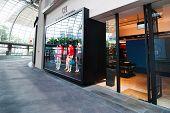 Singapore. Carolina Herrera boutique at Marina Bay Sands Resort