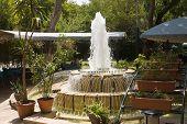 Armenian Restaurant With Fountain