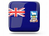 Square Icon Of Falkland Islands