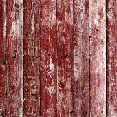 Old Wooden Planks Painted With Paint
