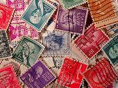 E.U. selos Vintage