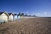 West Mersea Beach, Essex, England