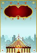 foto of cabaret  - Christmas Circus in the city - JPG