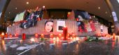 Michael Jackson's Remembrance In Cologne