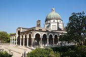 stock photo of beatitudes  - Chapel on the Mount of Beatitudes Israel - JPG