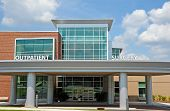 stock photo of health center  - A New Modern Hospital Outpatient Surgery Center - JPG