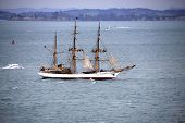 Tall Ship Picton Castle In Auckland