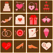 Wedding Color Icons