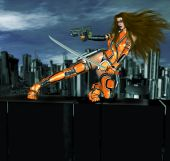 Cyber Action Girl