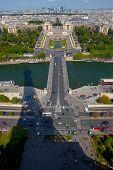 Skyline From Eiffel Tower