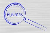Finding Business Opportunities, Magnifying Glass Design