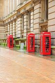 image of west midlands  - Birmingham red telephone boxes - JPG