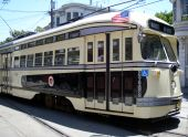 stock photo of muni  - San Francisco Muni - JPG