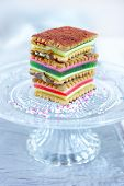 layered  biscuits cake