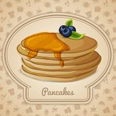 Pancakes dessert