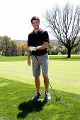 LOS ANGELES - APR 14:  Brandon Beemer at the Jack Wagner Anuual Golf Tournament benefitting LLS at L