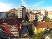 Low income family residential development in an urban area in Turkey