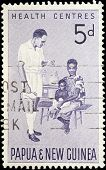 Cancelled Postage Stamp From Papua New Guinea