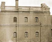 Brick history house.