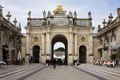 The Arch Here On The Stanislas Square In Nancy, France