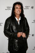 NEW YORK-APR 17: Musician Alice Cooper attends the 'Super Duper Alice Cooper' premiere during the 20