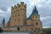 The Alcázar of Segovia, Spain.