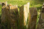 Stone palisades