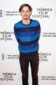 NEW YORK-APR 20: Actor Giles Matthey attends the