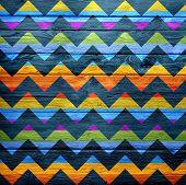 Seamless chevron pattern grunge background