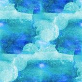 colorful pattern blue water texture paint abstract color seamles
