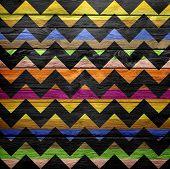 chevron pattern grunge texture background