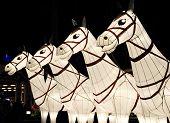 white horse lanterns