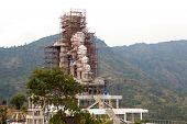 Construction Buddha, Wat pha soin keaw temple , thailand