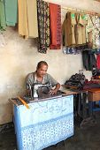 Indonesian tailor Flores