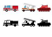 Fireman transportation