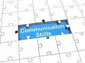 Communication Skills puzzle