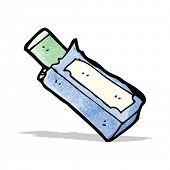 chewing gum packet cartoon