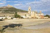 Photo of landscape from castrojeriz - ancient spanish village.