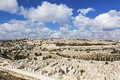 Cemetery Old City Of Jerusalem