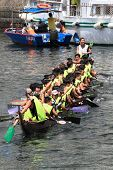 Dragon Boat at Chai Wan, Hong Kong