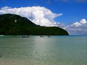 Loh Dalam Bay By Day, Phi Phi Island Thailand