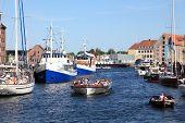 landmark medieval port of Copenhagen
