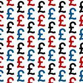 Pound Symbol Seamless Pattern