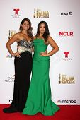 LOS ANGELES - OCT 10:  Andrea Navedo, Gina Rodriguez at the 2014 NCLR ALMA Awards Press Room at Civic Auditorium on October 10, 2014 in Pasadena, CA
