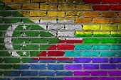 Dark Brick Wall - Lgbt Rights - Comoros