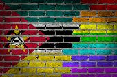Dark Brick Wall - Lgbt Rights - Mozambique