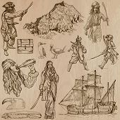 Pirates - Hand Drawn Vector Pack