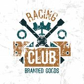 Car Racing Club Emblem