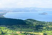 Bolsena Lake From Montefiascone